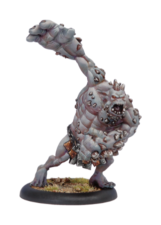 Trollblood Slag Troll Light Warbeast